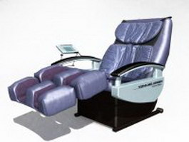 Electric massage chair 3d model