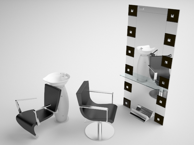 Salon design layout free software home design for 3d salon design software