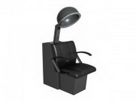 Beauty parlor hair dryer 3d model