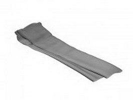 Trouser for men 3d model
