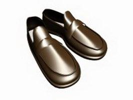 Men's Venetian loafer 3d model