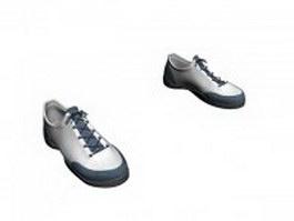 Running shoes for men 3d model