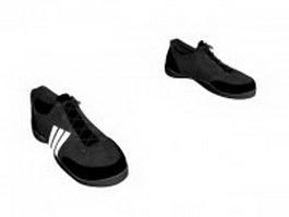 Skate shoe for men 3d model