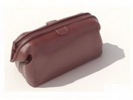 Oversized clutch bag 3d model