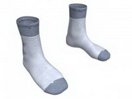 Smartwool men's socks 3d model