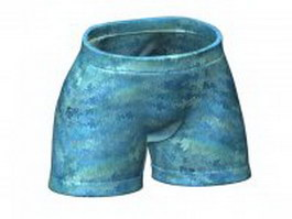 Boxer shorts for men 3d model
