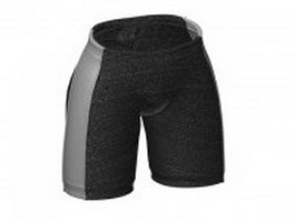Sports briefs for men 3d model