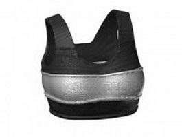 Sports bra 3d model