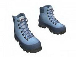 Timberland winter boots 3d model