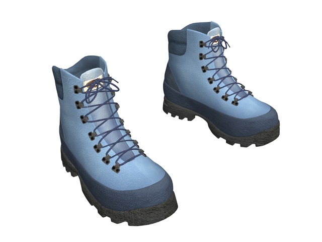 Timberland Winter Boots 3d Model 3ds Max Files Free