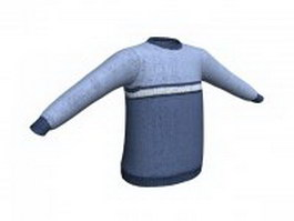 Jumper sweater for men 3d model