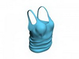 Camisole tank top 3d model