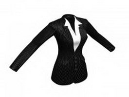 Blazer for lady 3d model