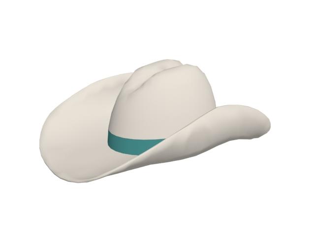 Cowboy hat 3d model 3D Studio 83472dc9b9a2