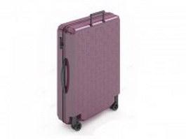 Trolley luggage bag 3d model