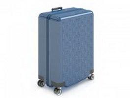 Hand luggage bag 3d model