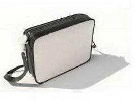 Sling bag for men 3d model