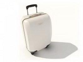 Luggage bag for girls 3d model