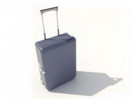 Hand luggage suitcase 3d model