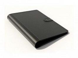 Briefcase folder case 3d model