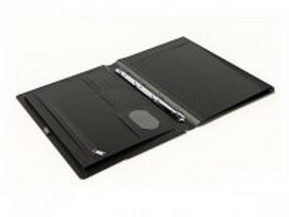 Leather portfolio case 3d model