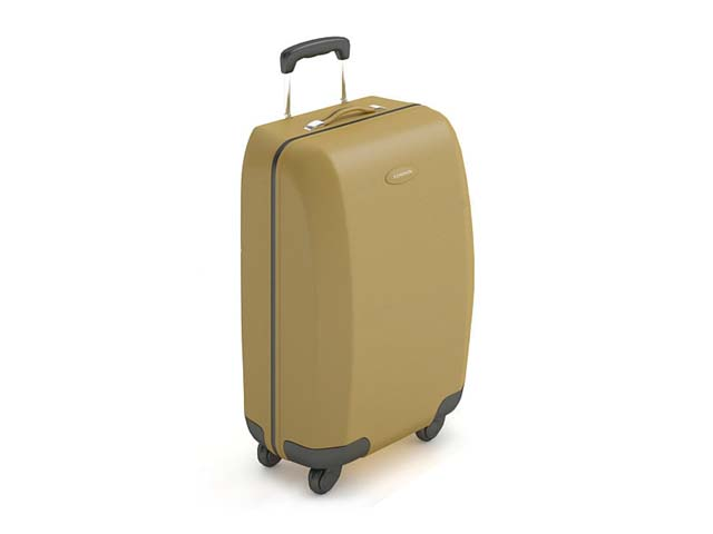 Trolley Luggage Suitcase 3d Model 3ds Max Files Free