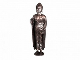 Japanese Buddha statue 3d model