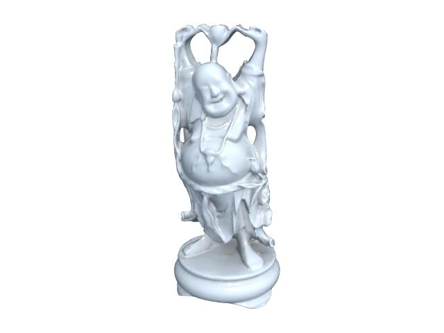 Ceramic Buddha Statue 3d Model 3ds Max Files Free Download