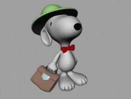 Snoopy 3d model