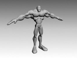 Giant humanoid 3d model