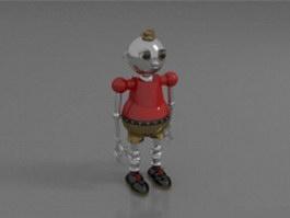 Robot boy 3d model