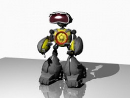 Little robot 3d model