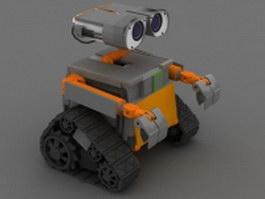 Robot WALL-E 3d model