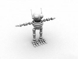 Small bot 3d model