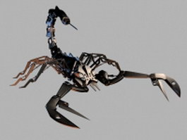 Scorpion bot 3d model