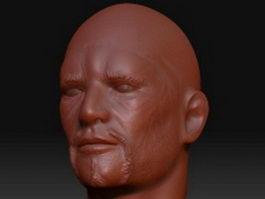 Attila head 3d model