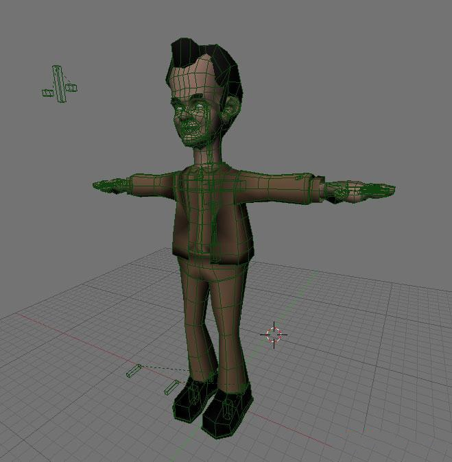 Introduction To Character Modeling In Blender Free Download : Animated comics tom hanks d model blender files free