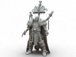Death warrior 3d model
