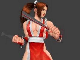 KOF - Mai Shiranui 3d model