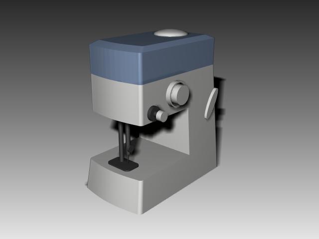 Electric Sewing Machine 3d Model 3d Studio 3ds Max Autocad