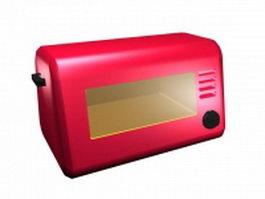 Mini oven for kids 3d model