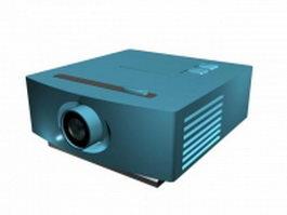 Image projector 3d model