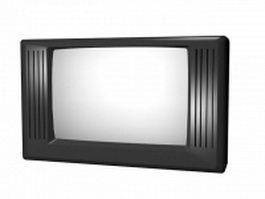 Television set 3d model