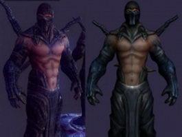 Mortal Kombat Sub-Zero 3d model