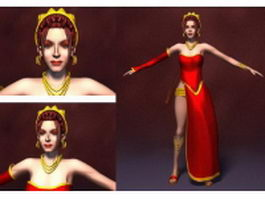 Princess of Persia 3d model