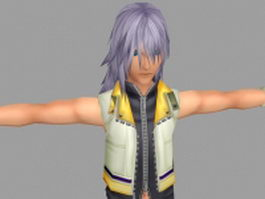 Cool fantasy guy 3d model