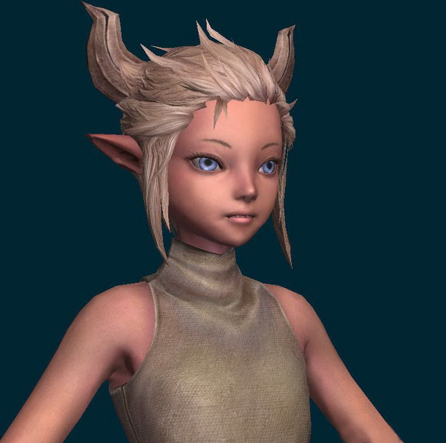 Little Fairy Girl 3d Model 3ds Max Files Free Download Modeling