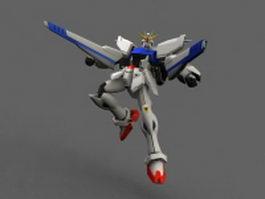 Mobile Suit Gundam F91 3d model