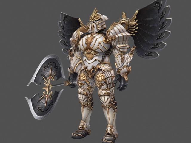 Full armor paladin with battleaxe 3d model 3ds max files free full armor paladin with battleaxe 3d model publicscrutiny Gallery