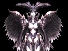 Dark Enchantress 3d model